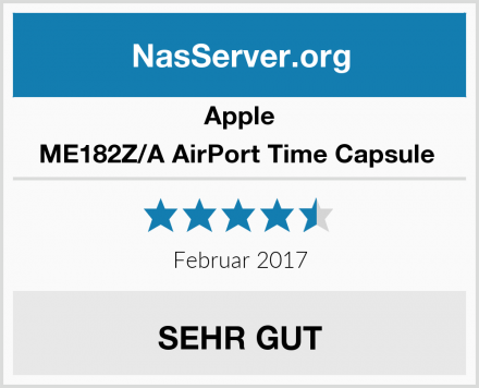 Apple ME182Z/A AirPort Time Capsule  Test