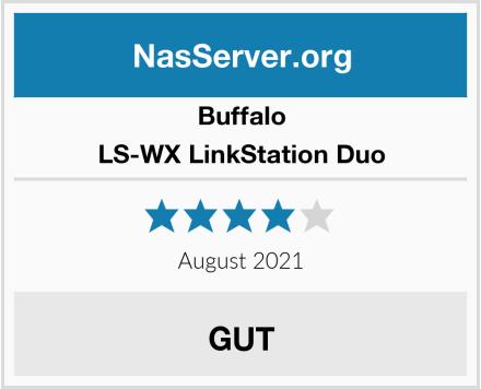 Buffalo LS-WX LinkStation Duo Test