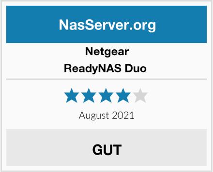 Netgear ReadyNAS Duo  Test