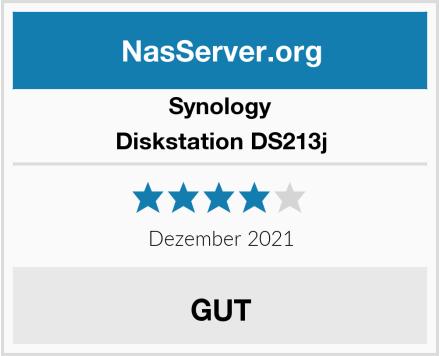 Synology Diskstation DS213j Test