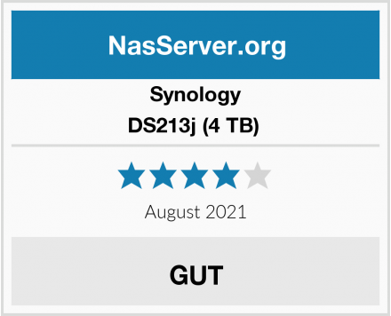 Synology DS213j (4 TB)  Test