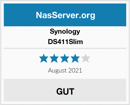 Synology DS411Slim Test