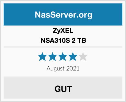 ZyXEL NSA310S 2 TB Test