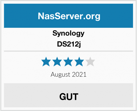 Synology DS212j Test