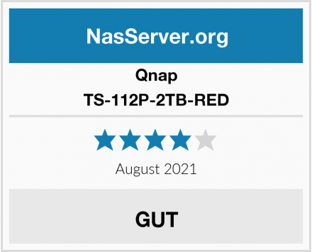 Qnap TS-112P-2TB-RED Test