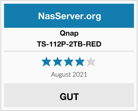 Qnap TS-112P-2TB-RED Test