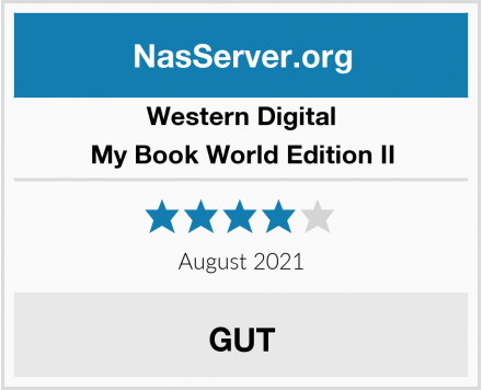 Western Digital My Book World Edition II Test