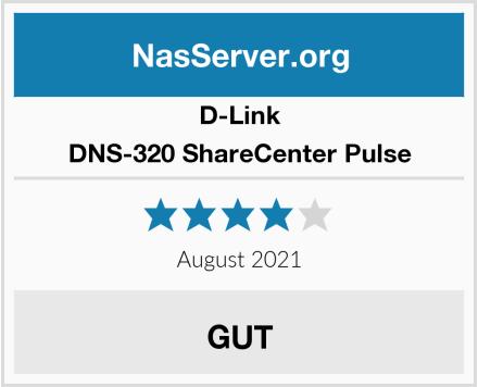 D-Link DNS-320 ShareCenter Pulse Test