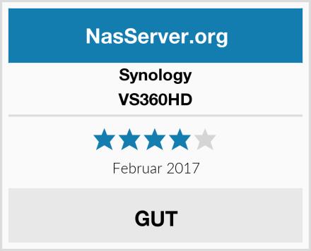 Synology VS360HD Test