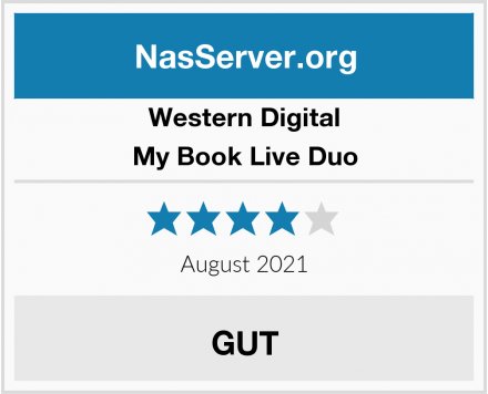 Western Digital My Book Live Duo Test