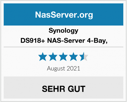 Synology DS918+ NAS-Server 4-Bay, Test