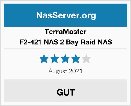 TerraMaster F2-421 NAS 2 Bay Raid NAS Test