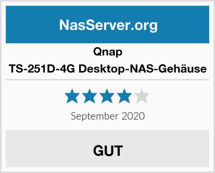 Qnap TS-251D-4G Desktop-NAS-Gehäuse Test