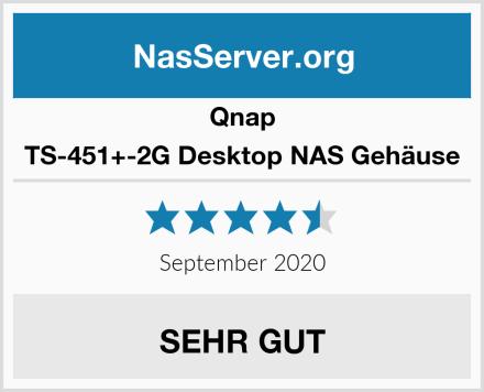 Qnap TS-451+-2G Desktop NAS Gehäuse Test