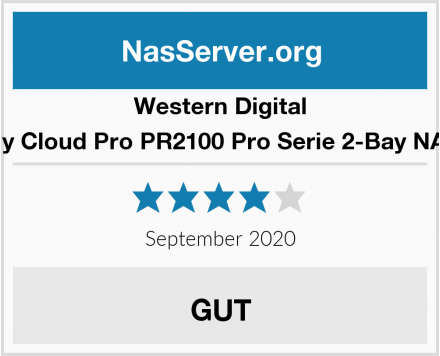 Western Digital My Cloud Pro PR2100 Pro Serie 2-Bay NAS Test
