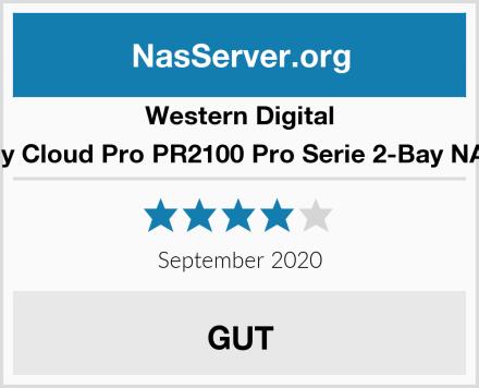Western Digital My Cloud Pro PR2100 Pro Serie 2-Bay NAS Test