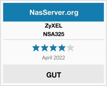 ZyXEL NSA325 Test