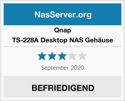 Qnap TS-228A Desktop NAS Gehäuse Test