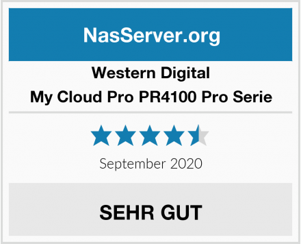Western Digital My Cloud Pro PR4100 Pro Serie Test