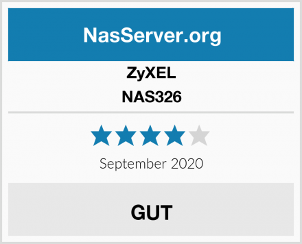 ZyXEL NAS326 Test