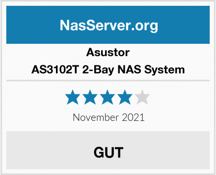 Asustor AS3102T 2-Bay NAS System Test