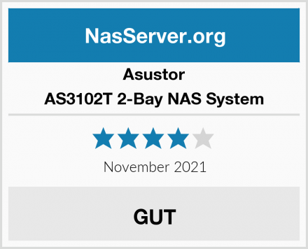 Asustor AS3102T 2-Bay NAS System Test