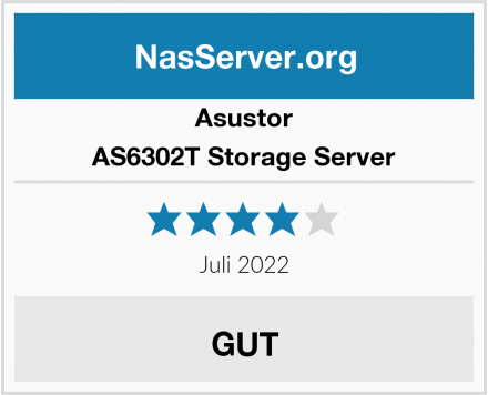 Asustor AS6302T Storage Server Test