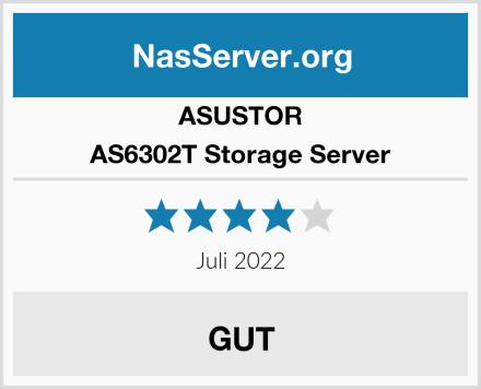 Asustor AS6302T Storage Server Test