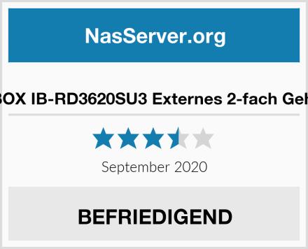 ICY BOX IB-RD3620SU3 Externes 2-fach Gehäuse Test