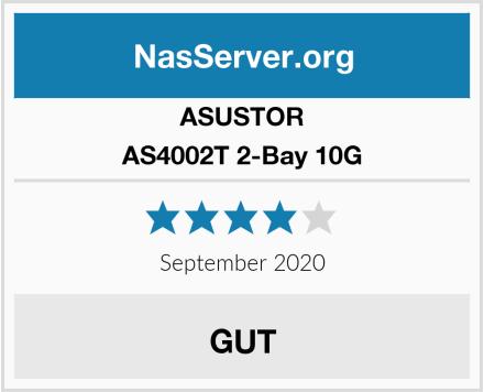 Asustor AS4002T 2-Bay 10G Test