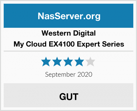 Western Digital My Cloud EX4100 Expert Series Test