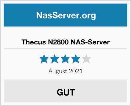 Thecus N2800 NAS-Server Test