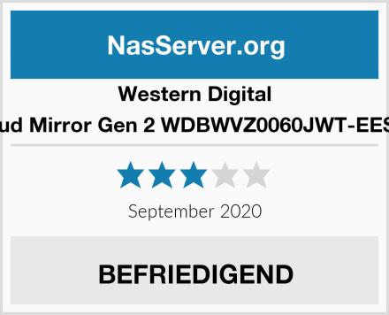 Western Digital My Cloud Mirror Gen 2 WDBWVZ0060JWT-EESN 6 TB Test