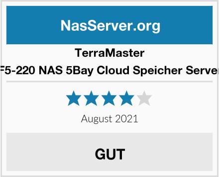 TerraMaster F5-220 NAS 5Bay Cloud Speicher Server Test