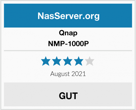 Qnap NMP-1000P Test
