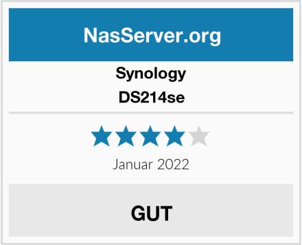 Synology DS214se Test